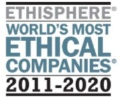 Ethisphere Worlds Most Ethical Company 2011-2020 logo
