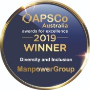 APSCo Diversity & Inclusion Award Winner 2019 logo